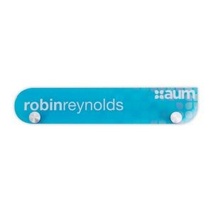 Acrylic Nameplates & Signs (16-20 Sq. Inches)
