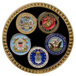 Military Coin (All 5 Branches)
