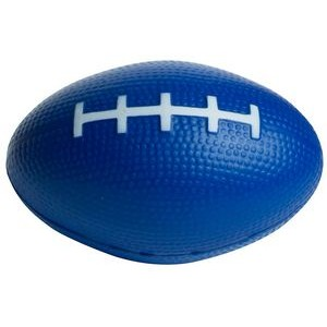 Blue Football Squeezies® Stress Reliever