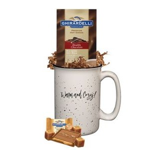 Tall Camper Mug with Cocoa & Chocolate