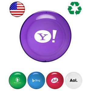 "USA Made, Frosted Colored ""Frisbee"" 9"" Flying Disc"
