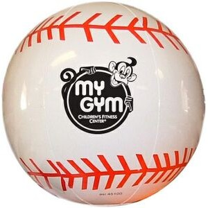 "Special Pricing !..large 16"" Inflatable Sports Beach Ball (Baseball) - Children Beach Pool Toy Group"