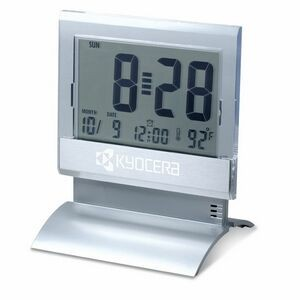 Large Display Digital Desk Clock with Alarm & Thermometer