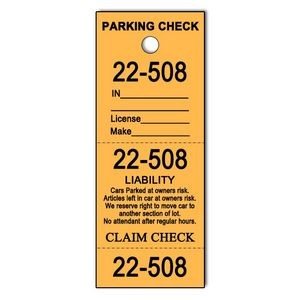 Parking Check Tickets