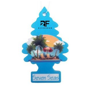 Little Trees Shaped Car Air Freshener Hanging Tree Shaped Air Freshener Long Lasting Scent