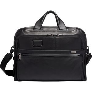 Tumi Alpha 3 Organizer Portfolio Brief Leather