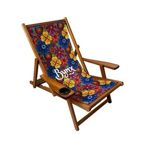 Wood Sling Chair (Full Color)