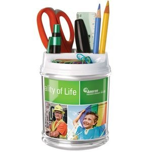 Full-Color DeskPlus Caddy Organizer - Made in the USA