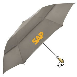 The Vented Little Giant Golf-Size Folding Umbrella