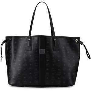 MCM Black Large Reversible Liz Shopper