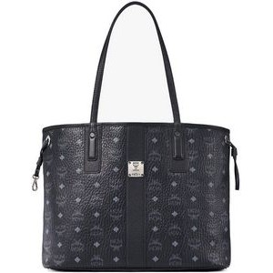 MCM Black Medium Reversible Liz Shopper