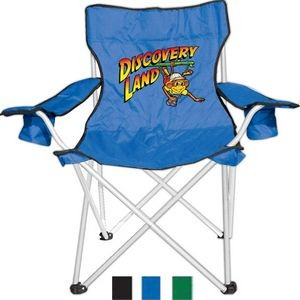 Camping/Folding Chair with Dual Cup Holder