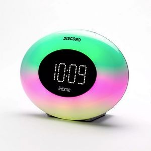 iHome IM30SC Color Changing FM Alarm Radio & USB Charger