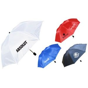 "Foldable Umbrella - 40"" Arc and Folds Into Compact 13"""