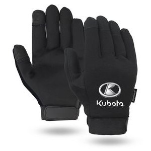 Touchscreen Black Mechanics Gloves