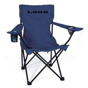 Folding Chair w/Arm Rests & Carrying Case