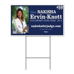 Yard Sign 18'' x 24'' - Single-sided